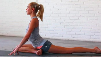 Yoga Poses for Cycling Back Pain