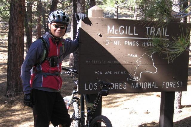 Mt. Pinos / Mc Gill Trail