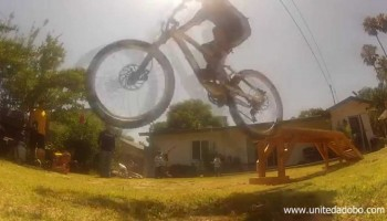 Backyard Mountain Bike Playground