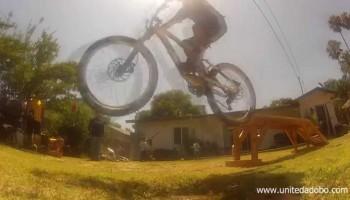 Backyard Mountain Bike Playground
