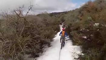 Liebre Mountain – Winter / Snow Ride