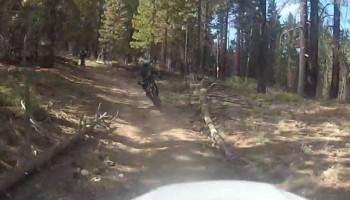 Mountain Biking Mount Pinos